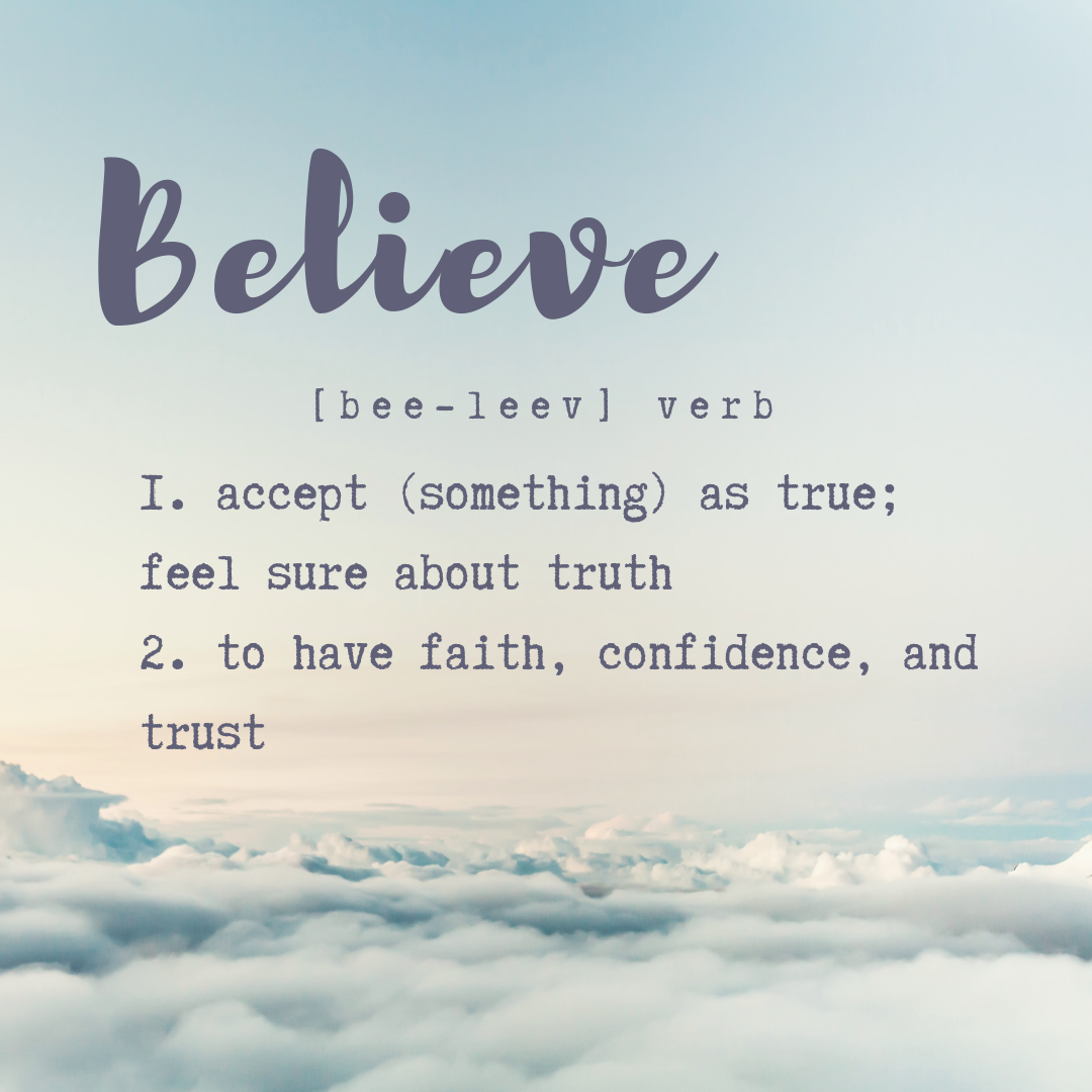 What if I'm Wrong… {Why} {Believe}