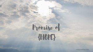 Promise of {Hope}