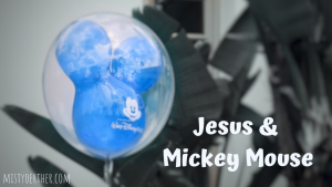 Jesus and Mickey Mouse