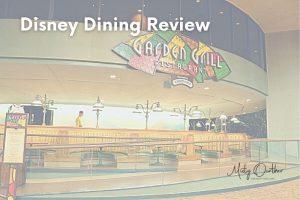 Garden Grill Dinner: Walt Disney World Dining Review