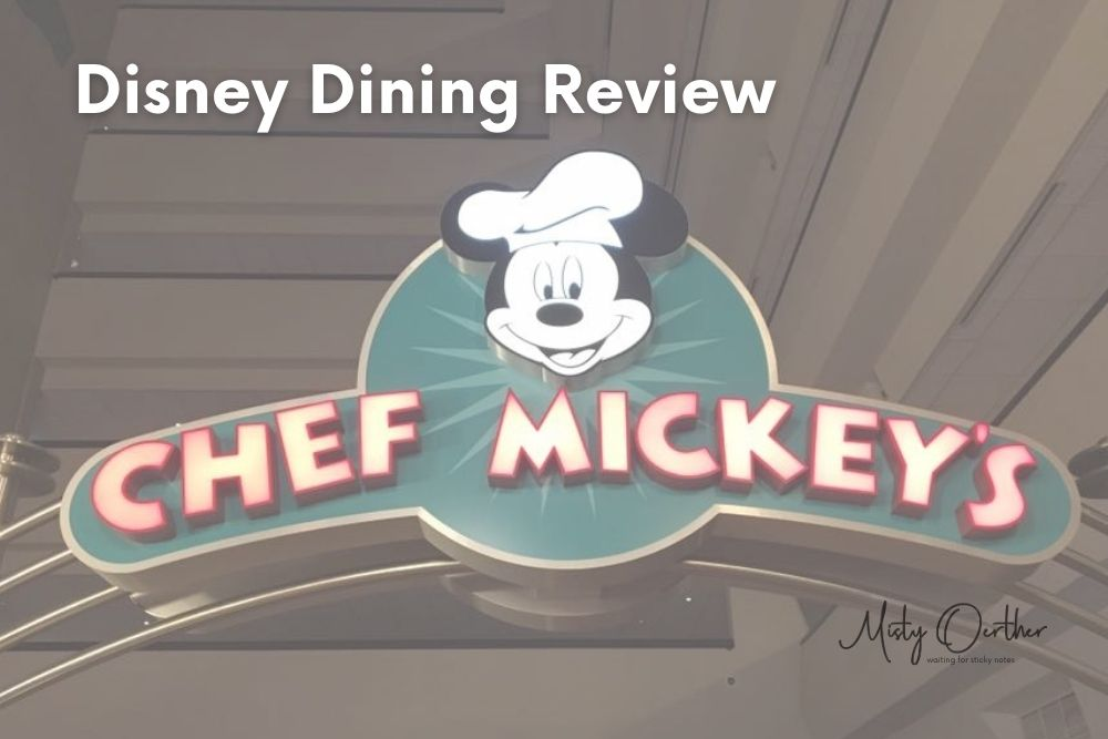 Chef Mickey's – A Family Tradition: Disney World Dining Review