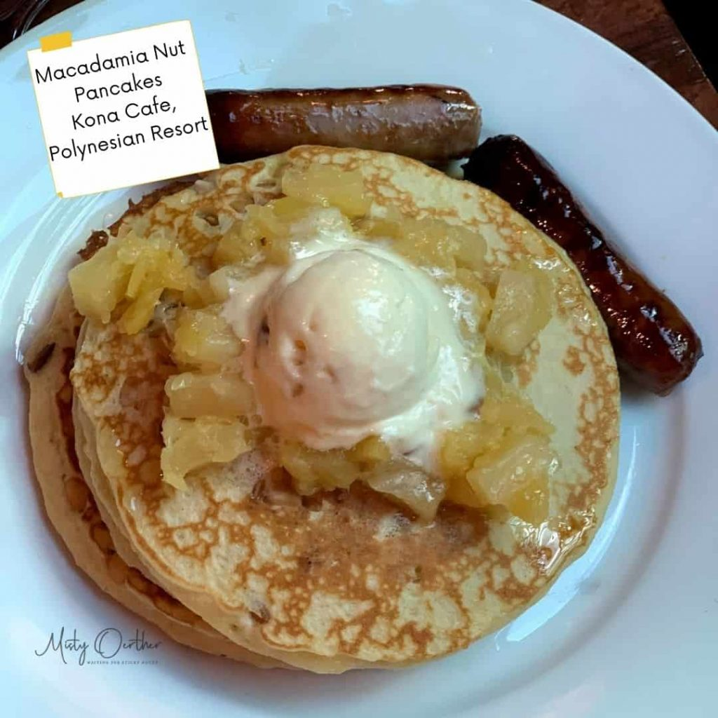 Food image from Kona Cafe, macadamia nut pancakes