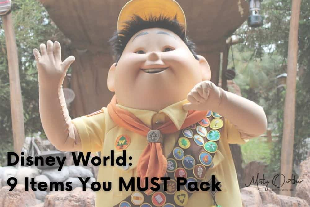 Walt Disney World: 9 Items You MUST Have in Your Suitcase