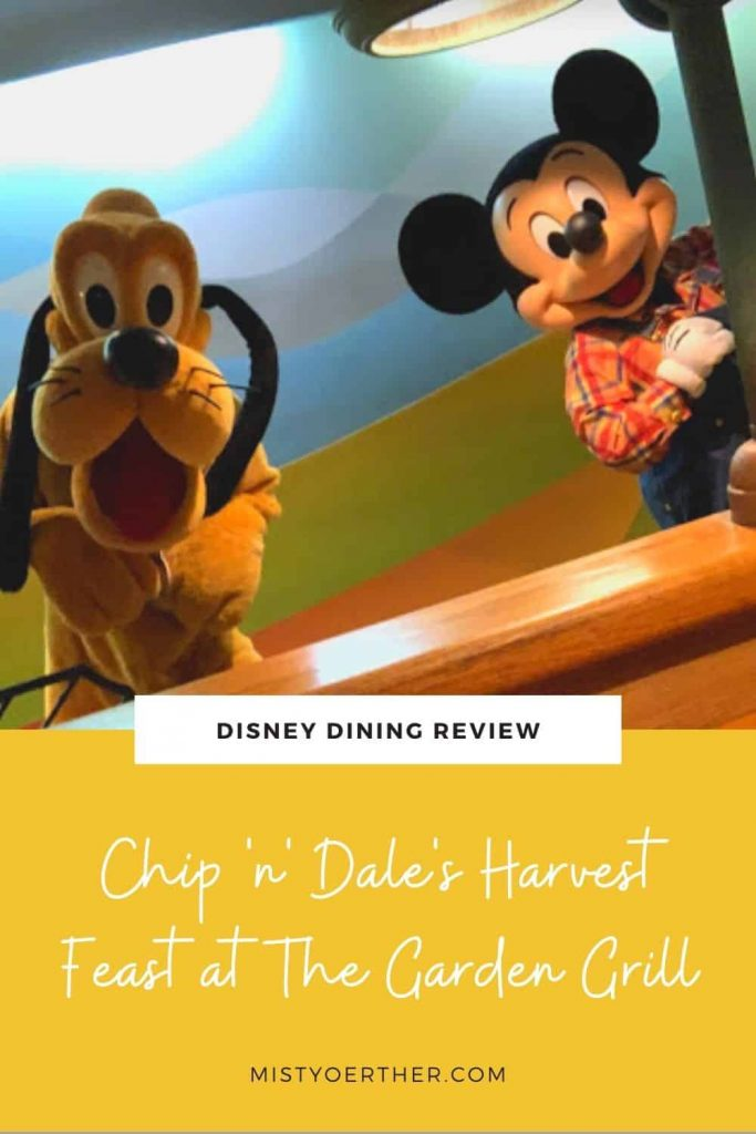 Pinterest image: Disney Dining Review: Garden Grill