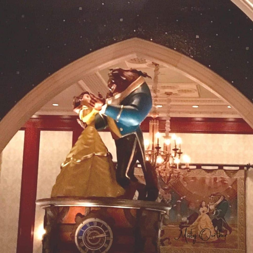 Be Our Guest The Rose Room music box