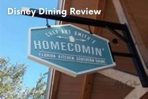 Chef Art Smith's Homecomin': Walt Disney World Dining Review
