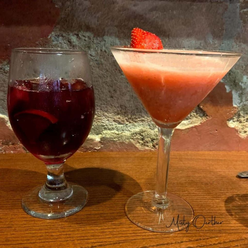 food image, beverages italian margarita and sangria