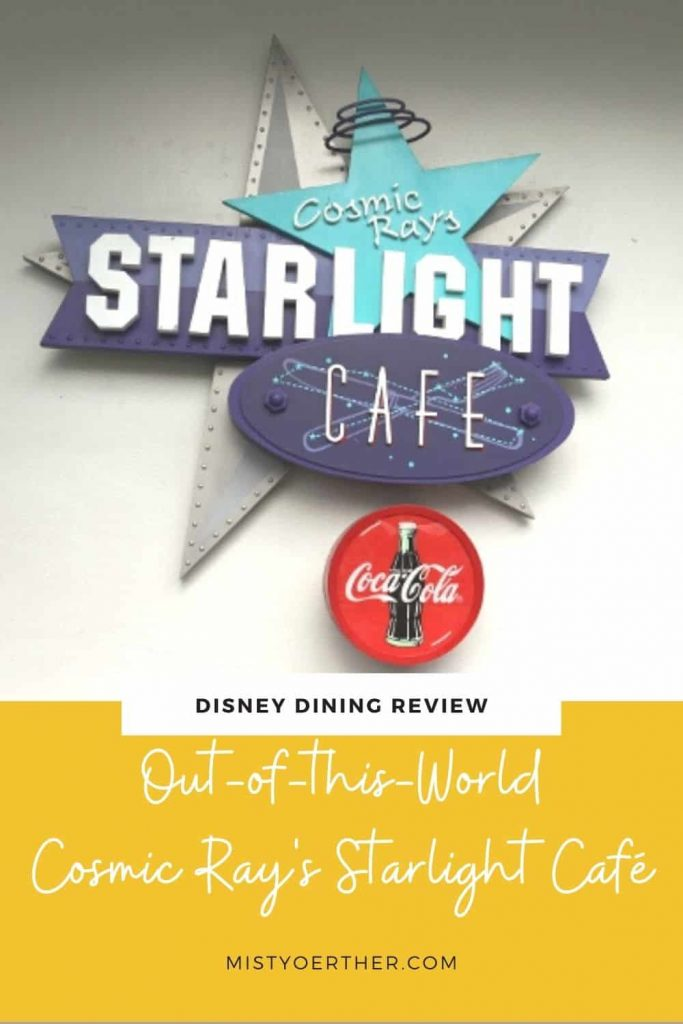 Pinterest image, Disney Dining Review