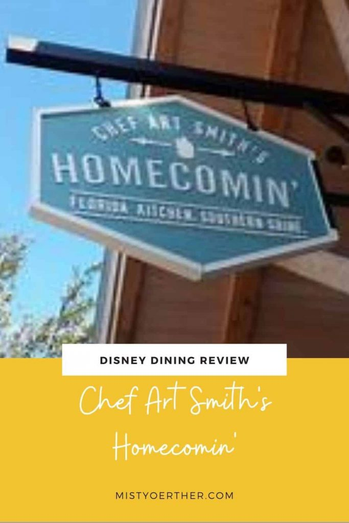 Pinterest image for Chef Art Homecomin' review